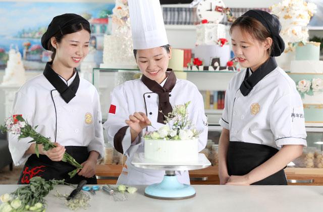 西安哪里可以学做蛋糕?